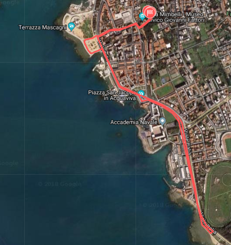 R4C Livorno 2018 - Percorso