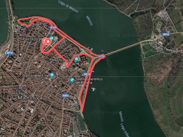 R4C Mantova 2018 - Percorso